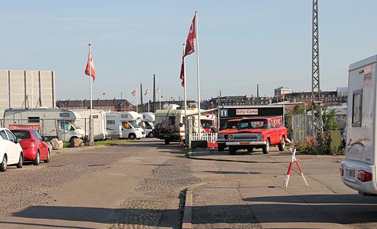 Ställplatser för husbilar i Danmark som vi övernattat på.