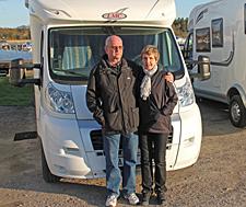 För Lennart Nilsson och livskamraten Britta är husbil en livsstil