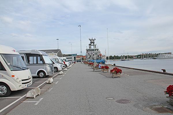 Ställplats Karlskrona Marina