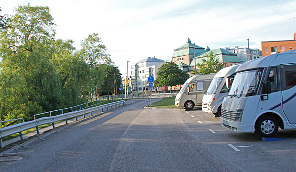 Husbilsparkering Ronneby.