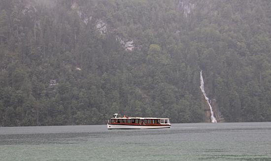 Königssee-Båt-Vattenfall