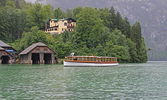 Königssee-båthus