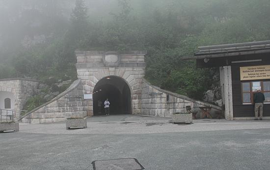 Kehlstein-tunnelporten