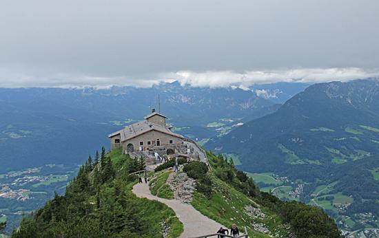 Kehlsteinhaus-ovanifrån