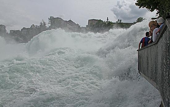 Rheinfall-åskådarplats