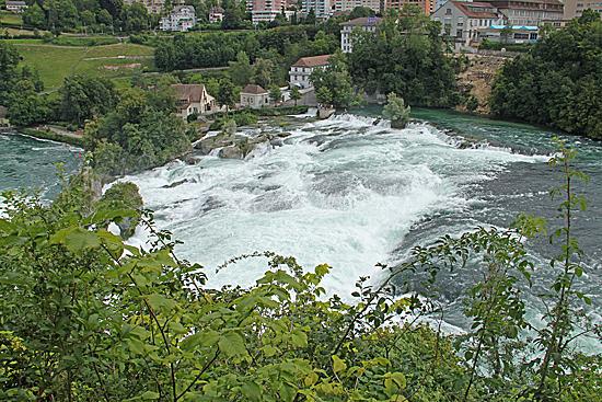 Rheinfall-översikt