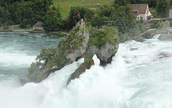 Rheinfall-klippa
