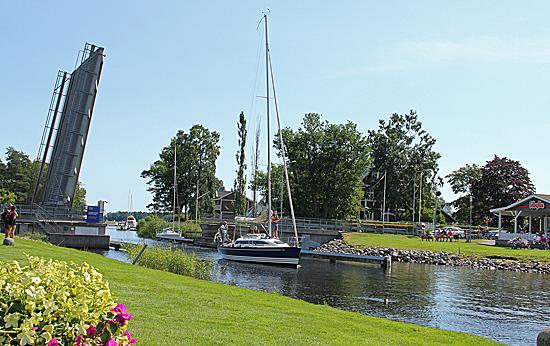Karlsborg-broöppning