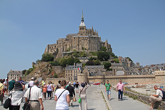 Mont-st-Michel-nära