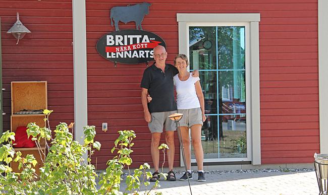 Britta och Lennarts nära kött.