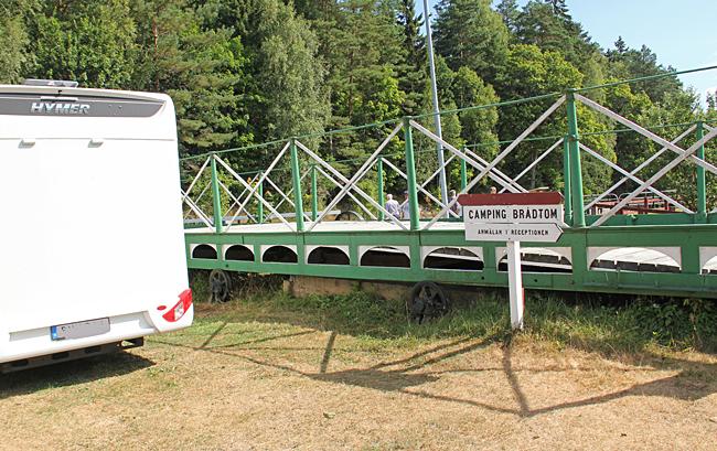 Brådtoms egen lilla camping.