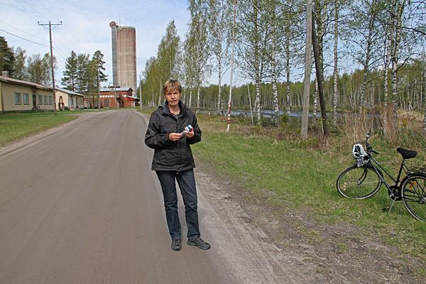 Geocaching vid Korsnäs gruva.