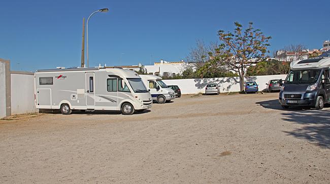 Stans ställplats var en grusplan där alla ville parkera.