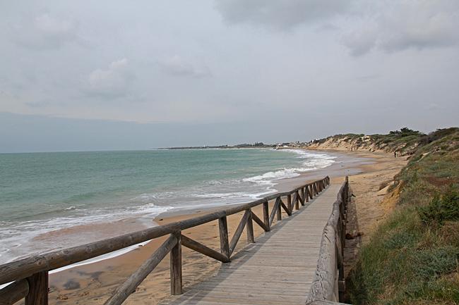 Playa Punta Candor är lätt att nå även för handikappade.