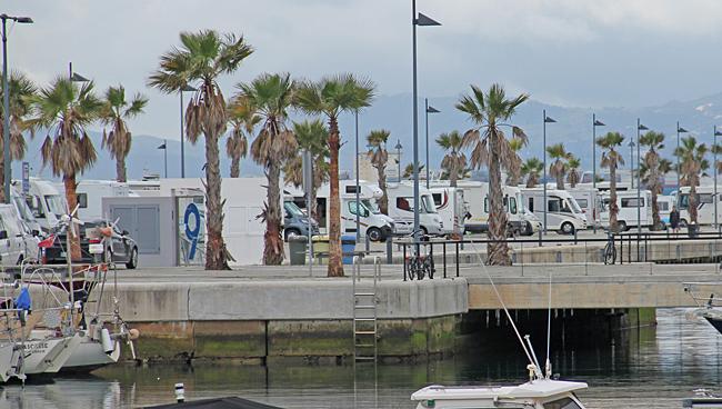 La Linea hamnen.