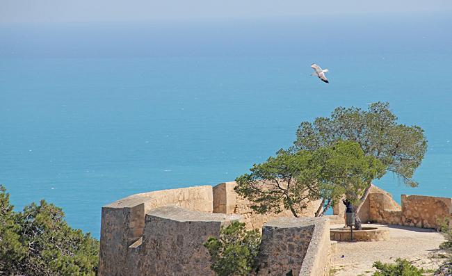 Utsikt från fästningen.