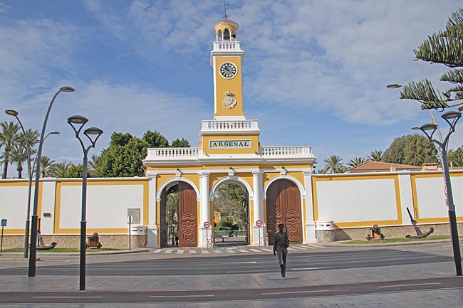 Arsenal de Cartagena är ett skeppsvarv och flottbas av stor betydelse.