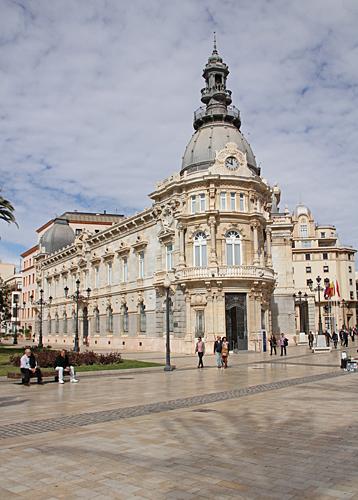 Palacio consistorial de Cartagena.