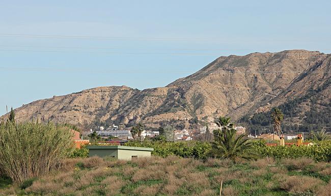 Murcia omges av höga berg.