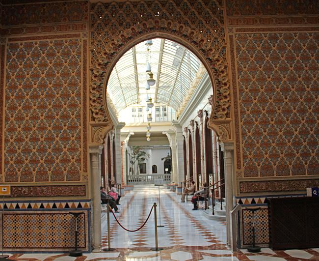 Casinot i Murcia är en unik byggnad från ett arkitektoniskt perspektiv.