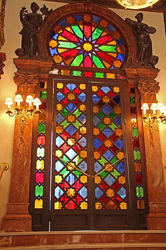 Entrédörren till Casinot i Murcia