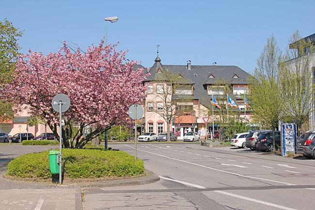 Schweich vart första stopp i Tyskland.