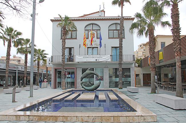 Stadshuset i Platja de Aro