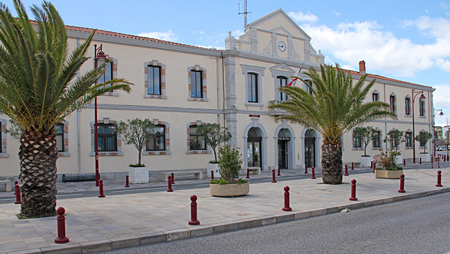 Rådhuset i Port la Nouvelle.