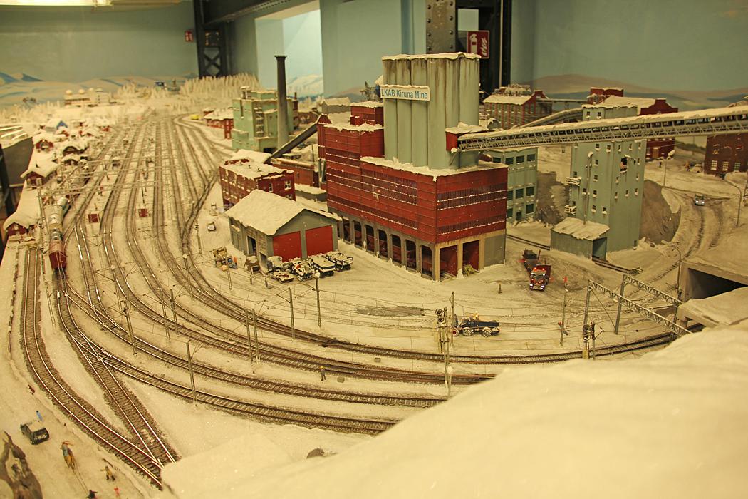 LKAB:S gruva i Kiruna har sin givna plats i ett vinterlandskap.