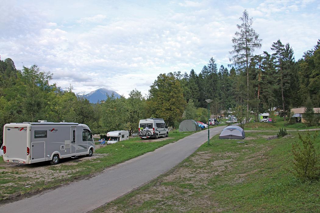 Camping Bled, där ACSI kortet gäller.