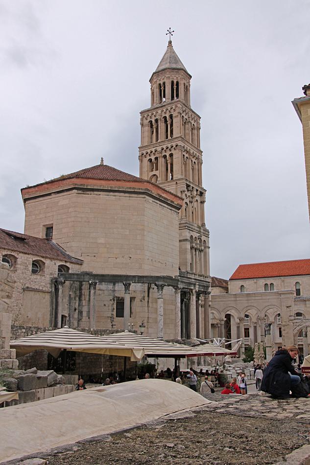 Katedralen i Split Kroatien.