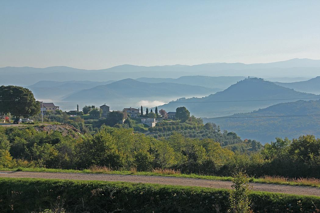 Utsikt i Slovenien.