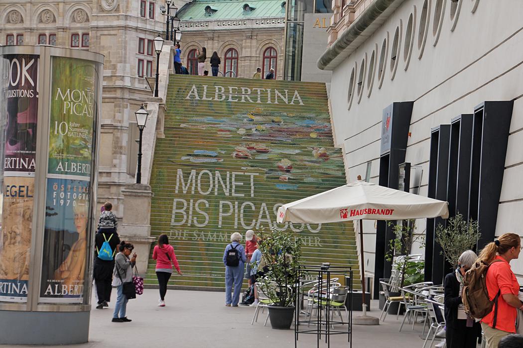 Albertina är ett statligt konstmuseum i Wiens innerstad. Museets samling av grafik och bildkonst är en av världens största.