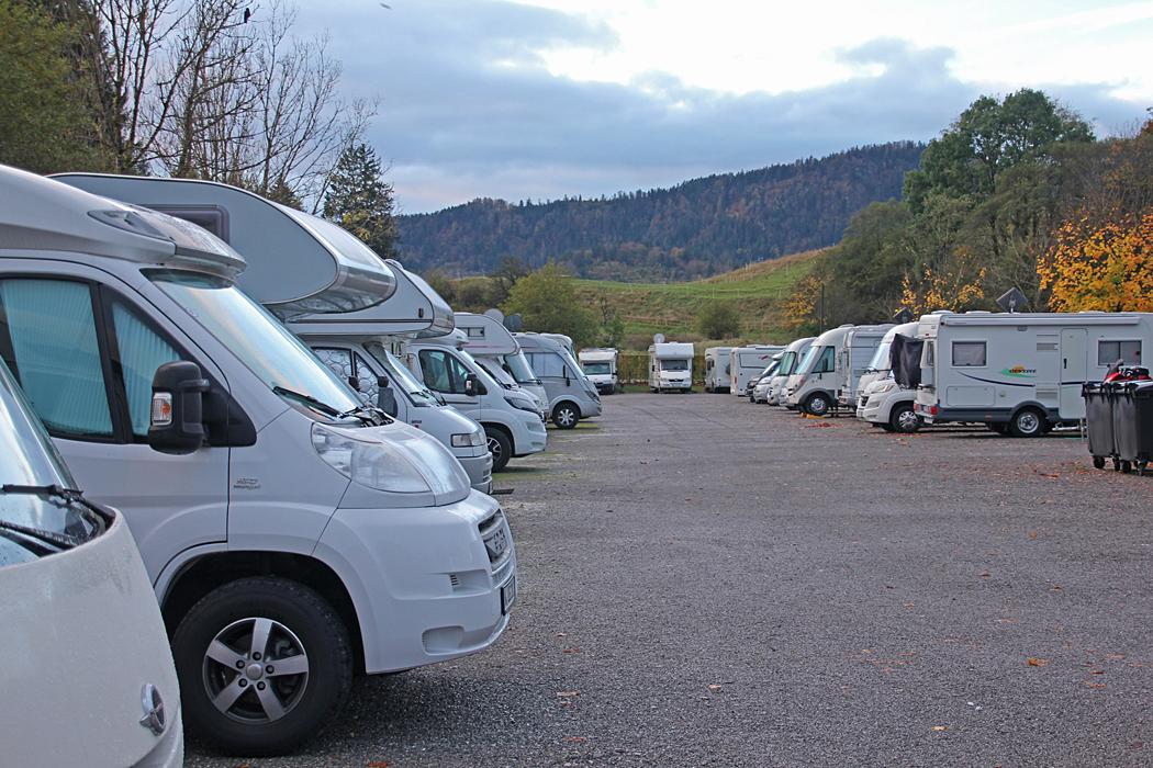 Wohnmobilplatz Füssen campers stop