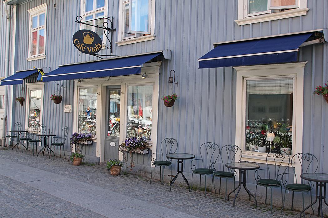 Ett av kafféerna i Alingsås.