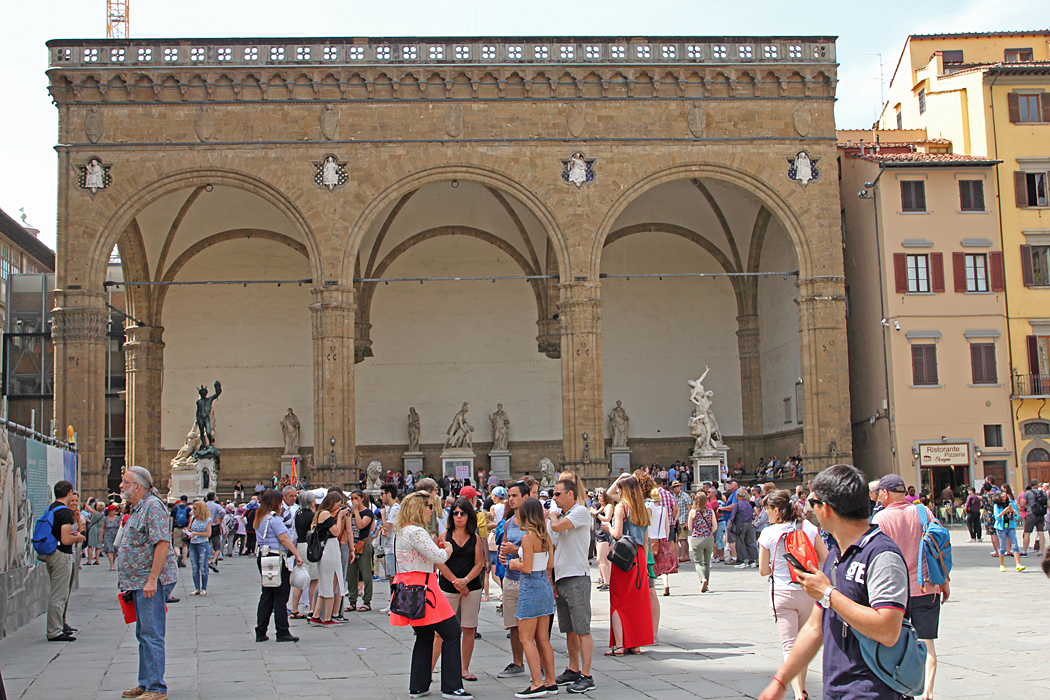 Piazza della Signoria.