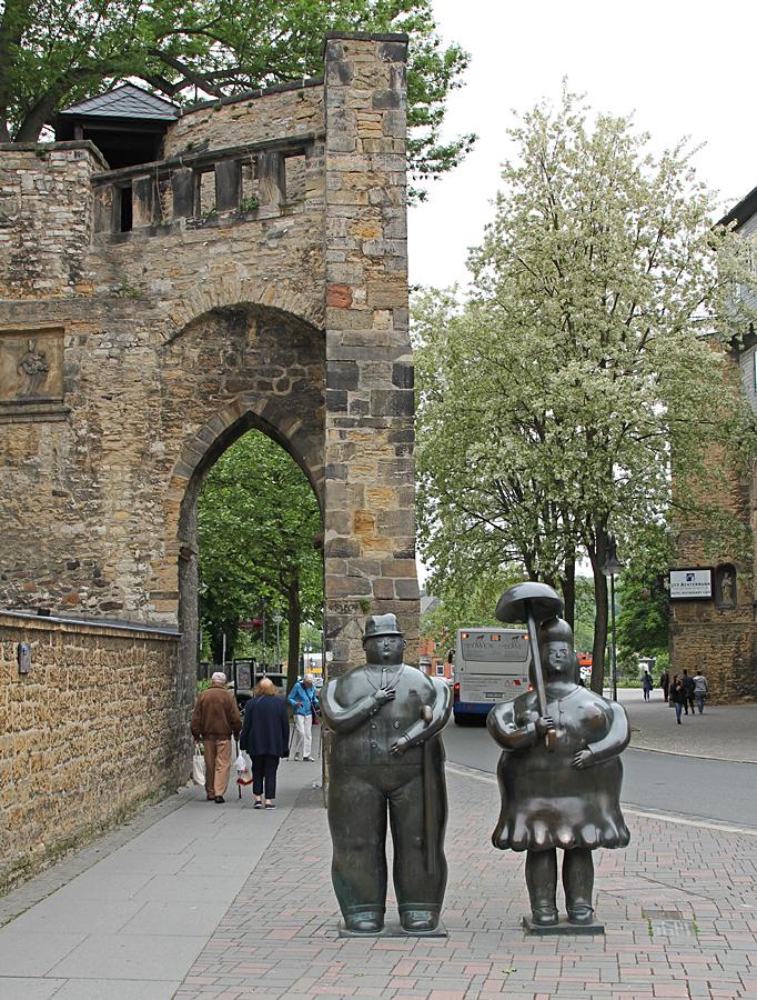 Statyer i Goslar.