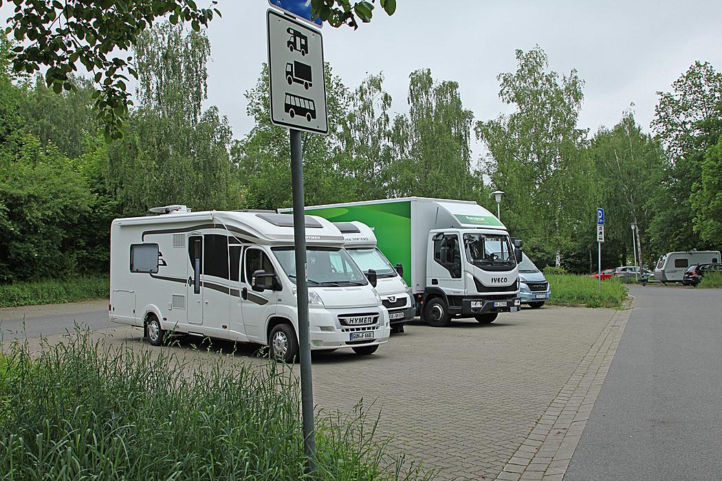 Mixparkeringen i Goslar