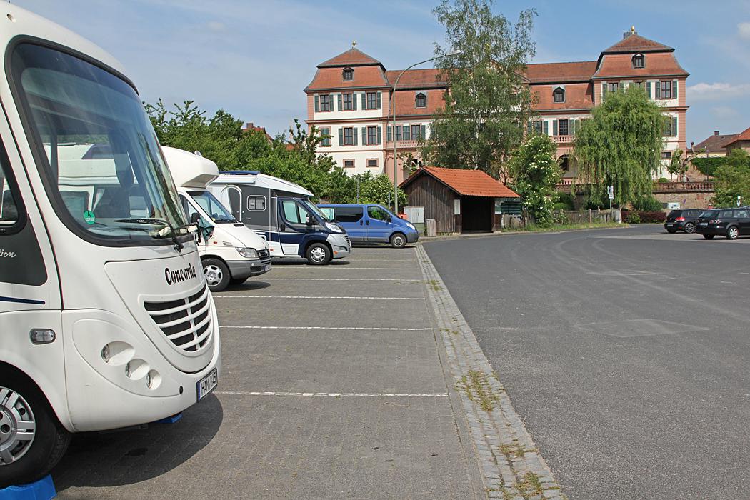 Mixparkering i Hammelburg.