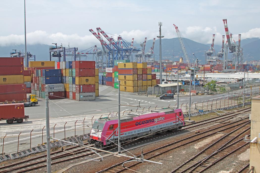 La Spezia, är en av Italiens största hamnstäder.