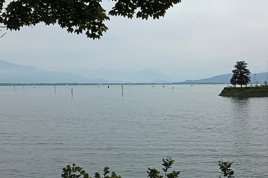Utsikt över Bodensjön.