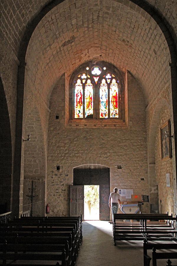 """La Chapelle Notre-Dame de Beauvoir"" är ett enkelt men vackert litet kapell i Moustiers-Sainte-Marie."