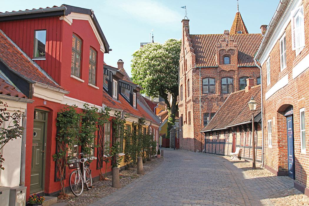 Ribe en mysig gammal stad i södra Danmark med närhet till vadarlandet.