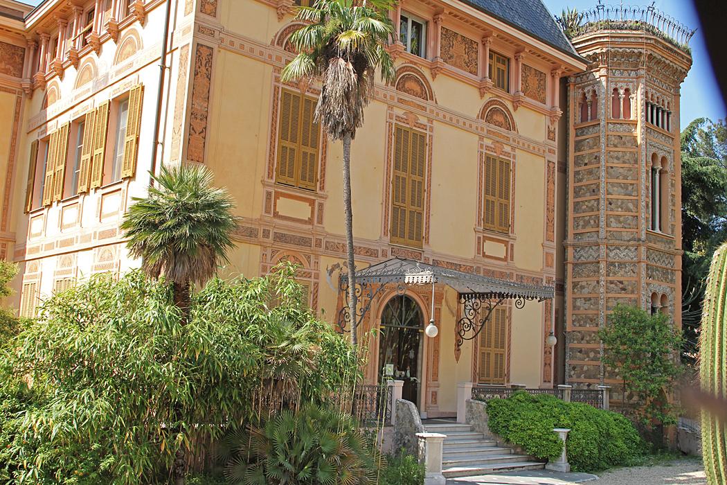 Villa Nobel i Sanremo, Italien.