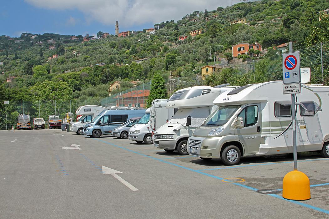 Parcheggio Comunale i Santa Margherita Ligure.