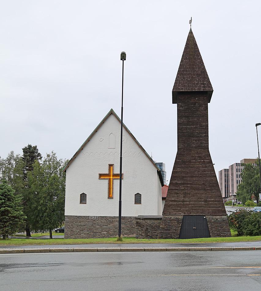 Svenska sjömanskyrkan i Narvik.