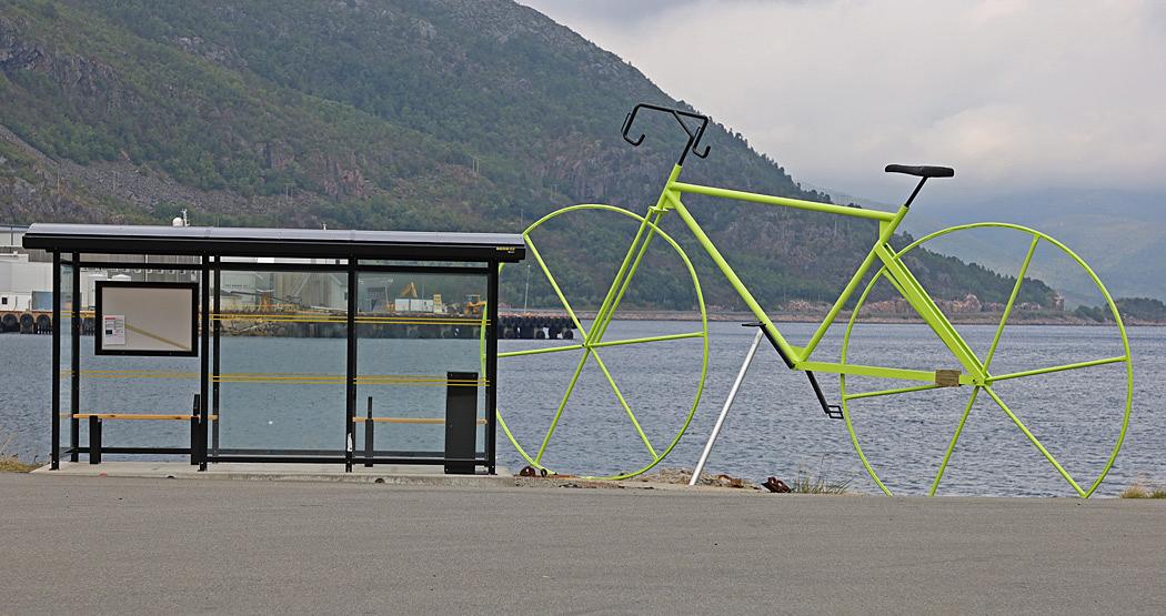 I Lödingen startar en etapp av cykelloppet Arctic Race of Norway.