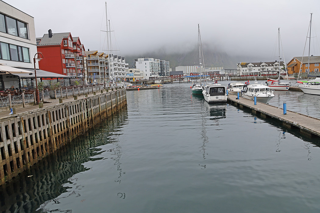 Hamnen i Svolvear.