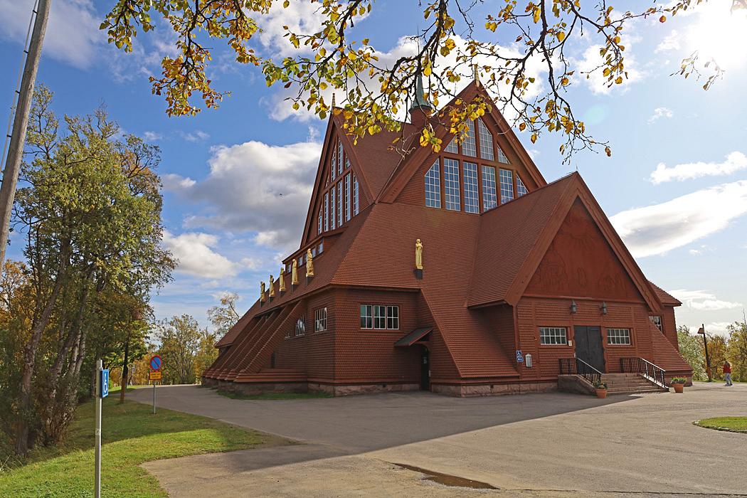 Kyrkan i Kiruna.