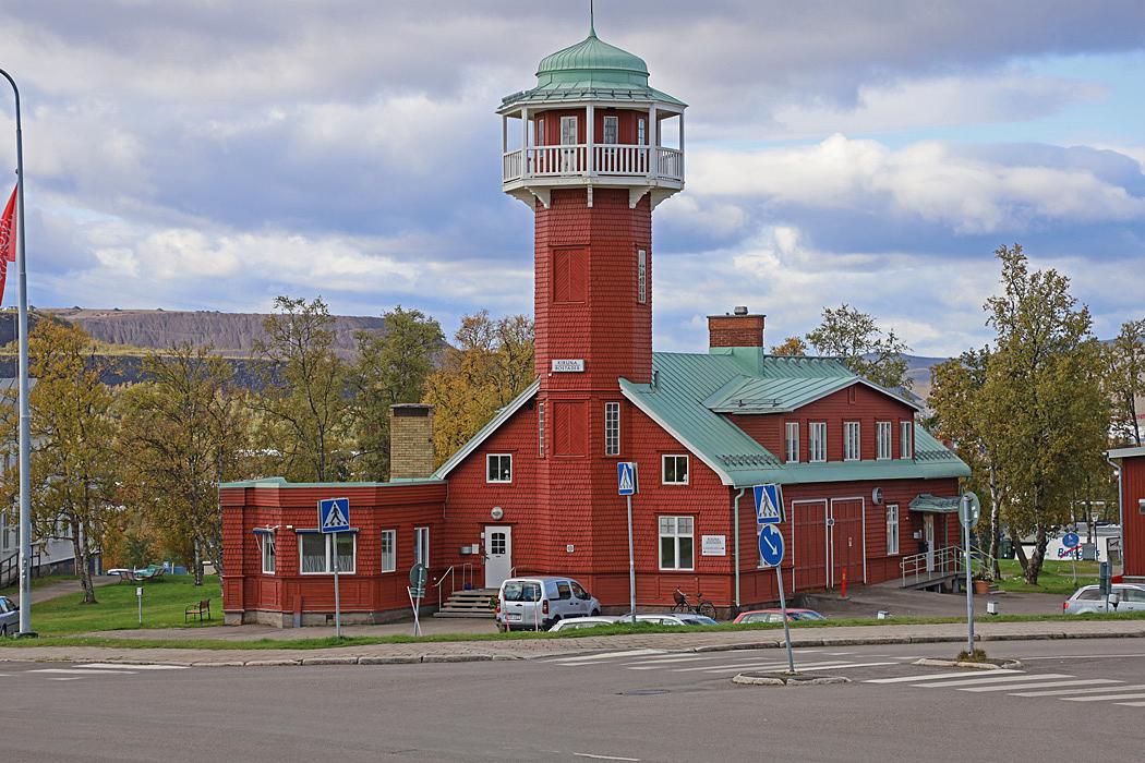 Gamla brandstationen från 1910.